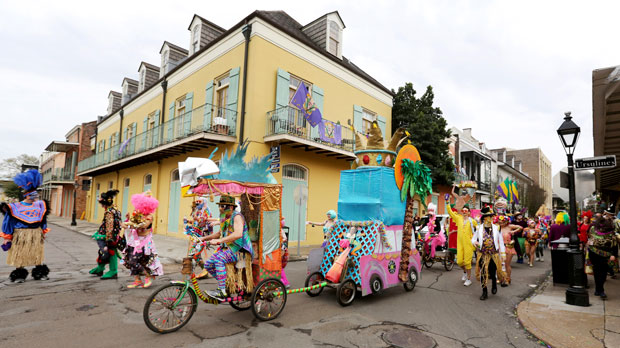 parade in New Orleans