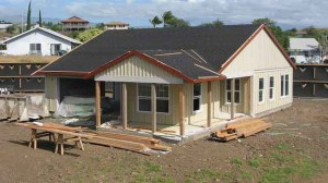 """""""An affordable model unit under construction at Kamakoa Nui."""" by Hawaii County licensed under CC BY 2.0"""
