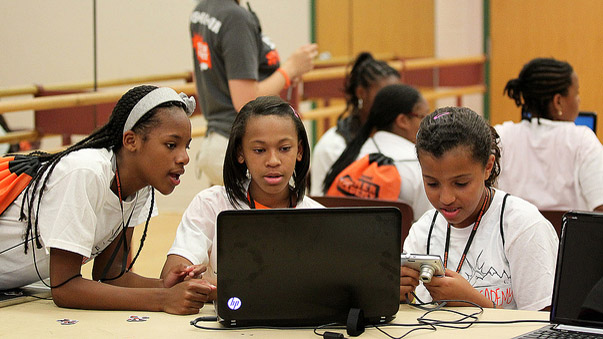 """Geek Squad camp provides hands-on technology skills"" by Fort George G. Meade Public Affairs Office licensed under CC BY 2.0"