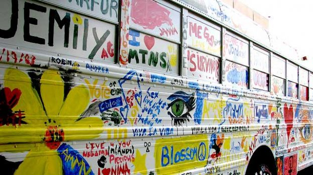 """Campus Art Bus"" by Jason Meredith licensed under CC BY 2.0"