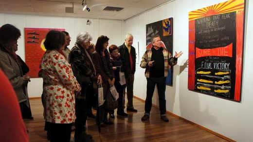 """Ken Done Artist Talk"" by Mosman Council licensed under CC BY 2.0"
