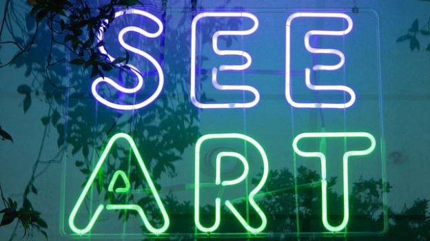 """""""See Art Neon"""" by PunkToad licensed under CC BY 2.0"""