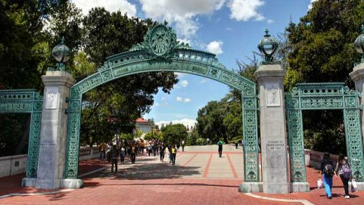 """""""Scenes from UC Berkeley - Sather Gate"""" by John Morgan licensed under CC BY 2.0"""