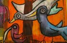 Bird Murals Raising Awareness of Threatened Species