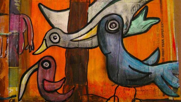 """""""Birds of a Feather/Junk Book Online Class"""" by Kim Schuster licensed under CC BY 2.0"""