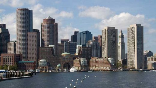 """Boston Skyscrapers"" by Tony Hisgett licensed under CC BY 2.0"