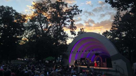 """Performance at the Boulder Bandshell"" Photo courtesy of Boulder Opera Company"