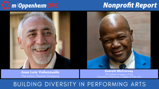 Everett McCorvey, Professor and Director of Opera at the University of Kentucky College of Fine Arts; and Jose Luis Valenzuela, Artistic Director at the Latino Theatre Company.
