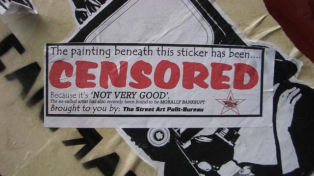 """Censored Graff"" by bixentro licensed under CC BY 2.0"