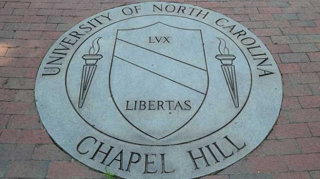 """University of North Carolina at Chapel Hill School Seal "" by William Yeung licensed under CC BY 2.0"