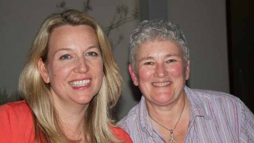 """""""Cheryl Strayed and Sally McPherson"""" by Sam Beebe licensed under CC BY 2.0"""