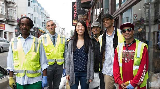 """Street Beautification participants"" Photo courtesy of North Beach Citizens"