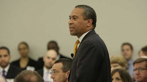 """Gubernatorial Speaker Series featuring Governor Deval Patrick"" by Rappaport Center licensed under CC BY 2.0"