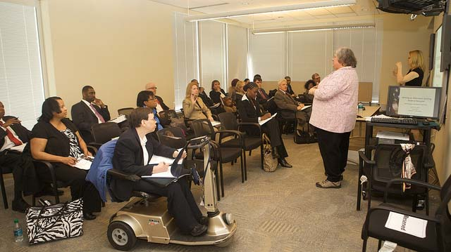 """""""03112013- Individuals with Disabilities Career Fair"""" by US Department of Education licensed under CC BY 2.0"""
