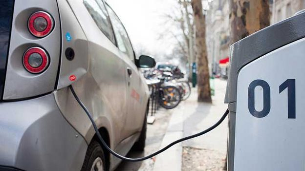 """""""Electric car charging station"""" by Håkan Dahlström licensed under CC BY 2.0"""