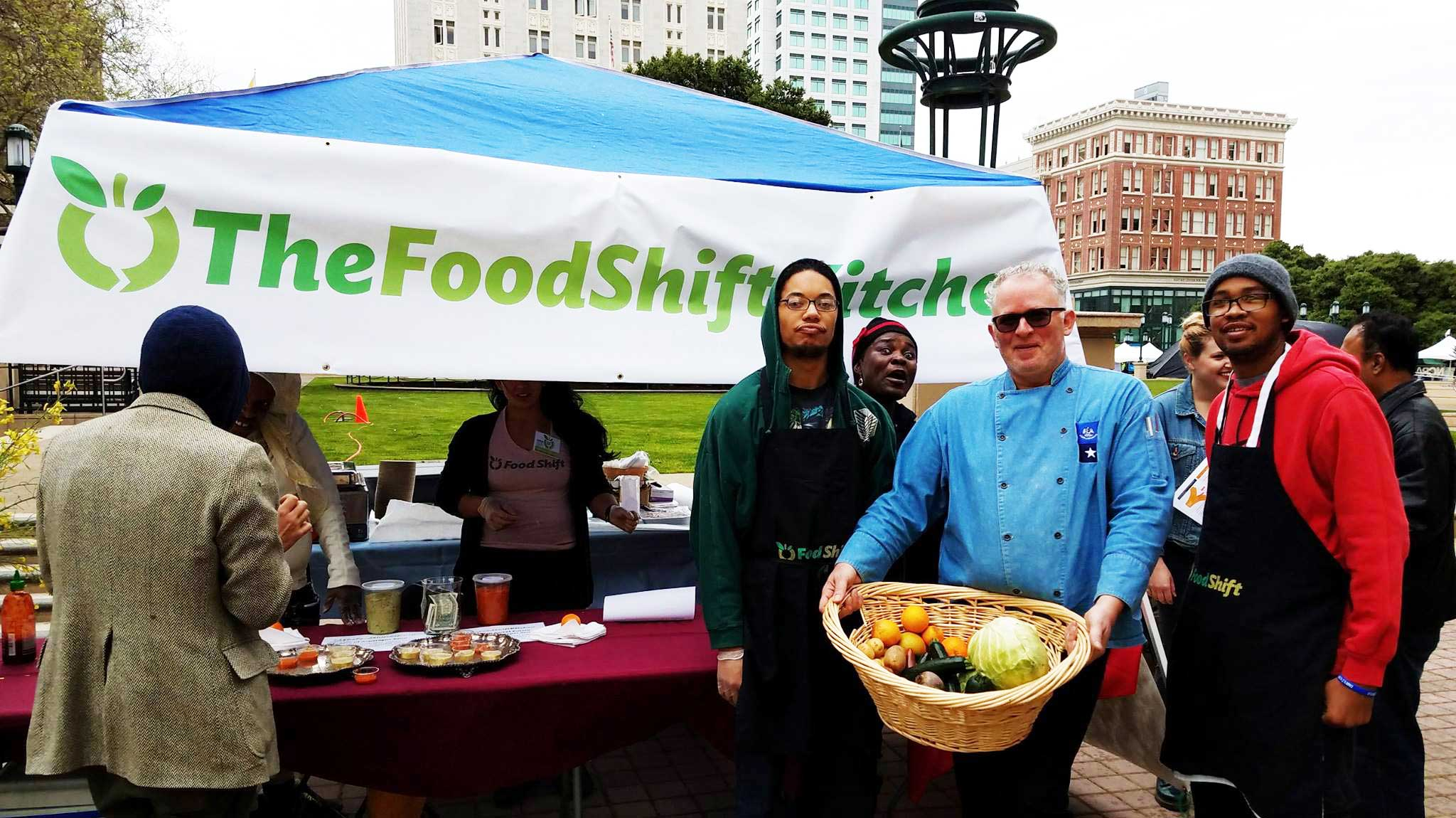 Food Shift Team with Founder and Executive Direcotr Dana Frasz (far left). Photo Courtesy of: Food Shift
