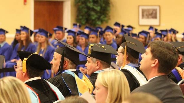 """""""Graduate Commencement"""" by SAU licensed under CC BY 2.0"""