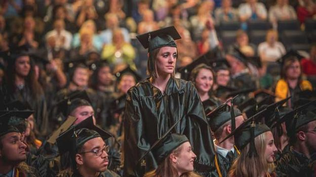 """""""PVCC Graduation 2017"""" by arthurmlee1 licensed under CC BY 2.0"""