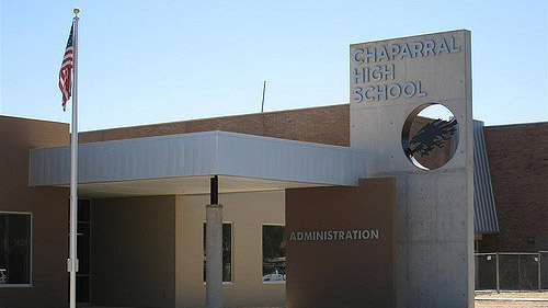 """""""Chaparral High School Administration Office"""" by Dru Bloomfield licensed under CC BY 2.0"""