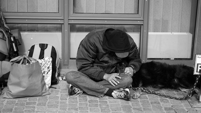 """""""homeless"""" by Kevin D licensed under CC BY 2.0"""