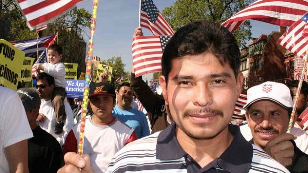 """Immigrant.March1.WDC.1may06"" by Elvert Barnes licensed under CC BY 2.0"