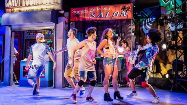 """In The Heights Performance"" Photo Courtesy of:  GALA  Hispanic Theatre"