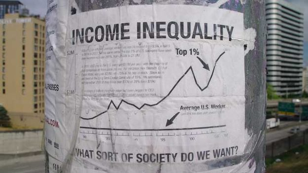 """""""Income Inequality"""" by mSeattle licensed under CC BY 2.0"""
