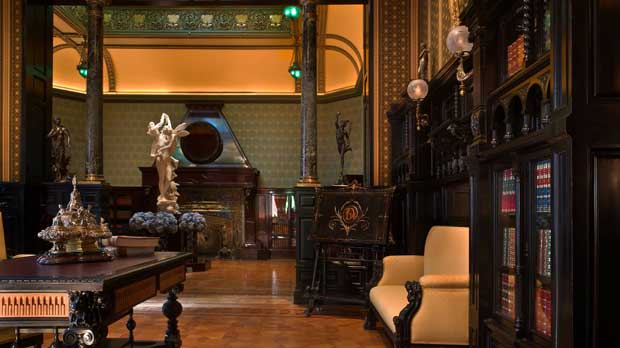 """Gallery at the Richard H. Driehaus Museum"" Photo courtesy of Richard H. Driehaus Museum."