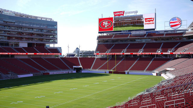 """Levi's Stadium"" by Chris Martin licensed under CC BY 2.0"