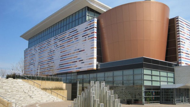 """""""Muhammad Ali Center and Star Fountain"""" by local louisville licensed under CC BY 2.0"""