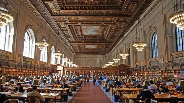 """New York City Public Library"" by JULIAN MASON licensed under CC BY 2.0"