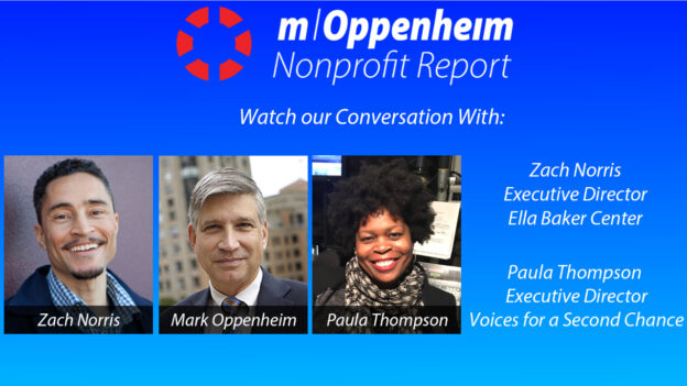 Poster promoting the nonprofit report show of 6/18/2020