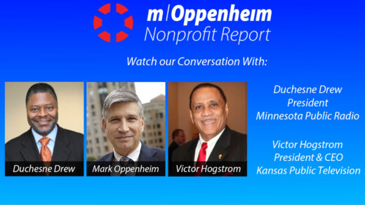 Poster promoting the nonprofit report show of 6/4/2020