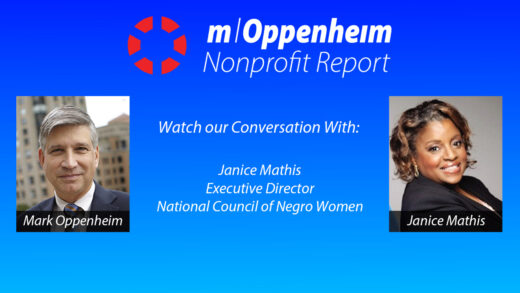 Poster promoting the nonprofit report show of 6/9/2020