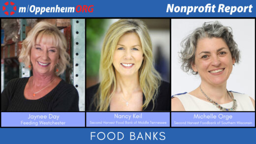 Poster promoting the nonprofit report Food Banks