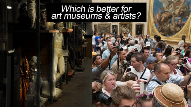 """This image contains the work of Andy Rusch """"Louvre, Mona Lisa, Paris - 877"""" licensed under CC BY 2.0"""