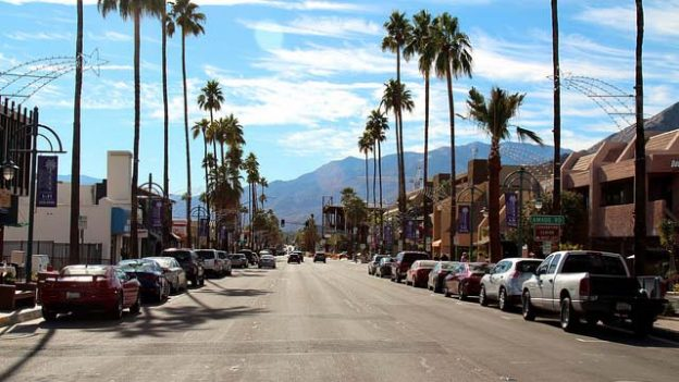 """Down town Palm Springs"" by Prayitno licensed under CC BY 2.0"