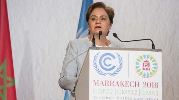 """""""UNFCCC Executive Secretary Patricia Espinosa"""" by UNclimatechange licensed under CC BY 2.0"""