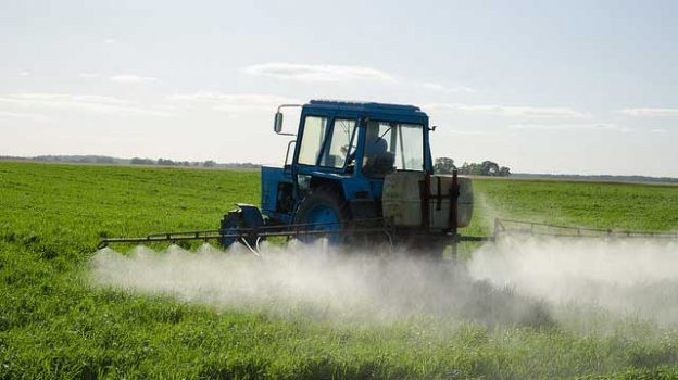 """""""Tractor Fertilize Field Pesticide And Insecticide"""" by Aqua Mechanical licensed under CC BY 2.0"""