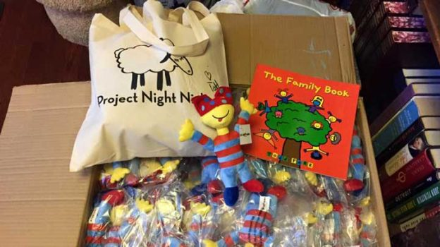 Project Night Night Tote Bag. Photo Courtesy of: Project Night Night