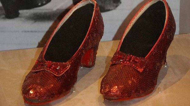 """Dorothy's Ruby Slippers, Wizard of Oz 1938"" by David licensed under CC BY 2.0"