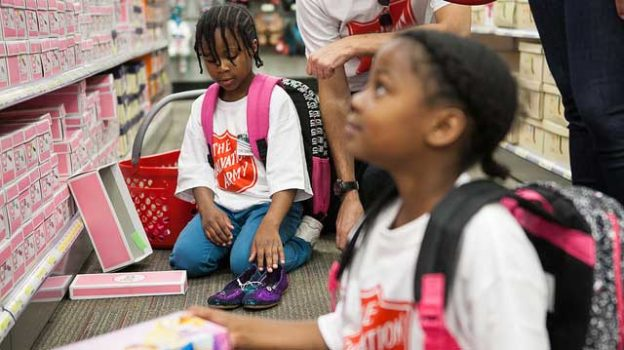 """""""Target School Spree 2013"""" by Salvation Army USA West licensed under CC BY 2.0"""