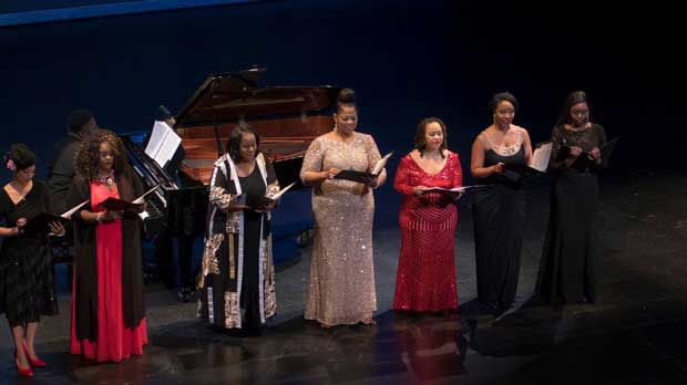 """Soprano Performance"" Photo courtesy of Coalition for African Americans in the Performing Arts."