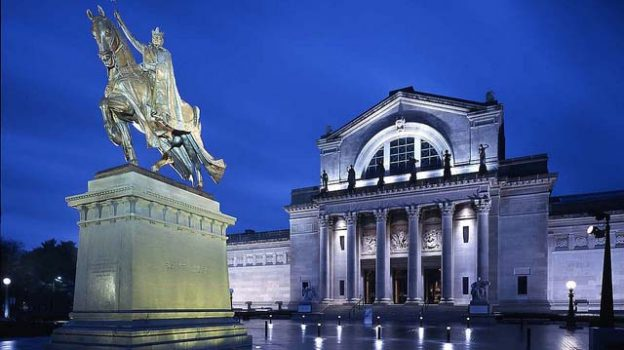 """""""Cass Gilbert-Designed Main Building at Night"""" by Saint Louis Art Museum licensed under CC BY 2.0"""