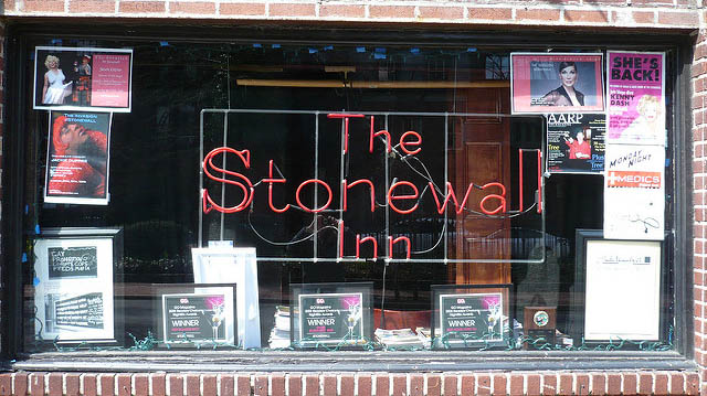 """""""The Stonewall Inn"""" by Charles Hutchins licensed under CC BY 2.0"""