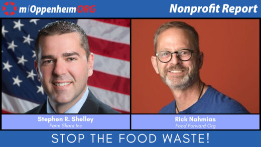 Stephen R. Shelley, President and CEO of Farm Share Inc; and Rick Nahmias, Founder and CEO of Food Forward Org.