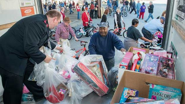 """""""Toys for Tots Pickup"""" by Savannah River Site licensed under CC BY 2.0"""