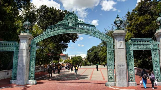 """Scenes from UC Berkeley - Sather Gate"" by John Morgan licensed under CC BY 2.0"