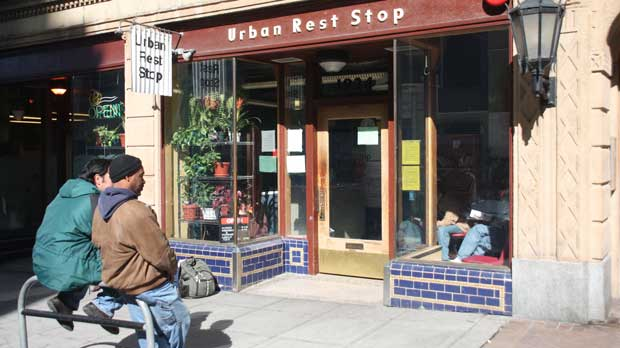 """Urban Rest Stop"" Photo courtesy of Low Income Housing Institute."