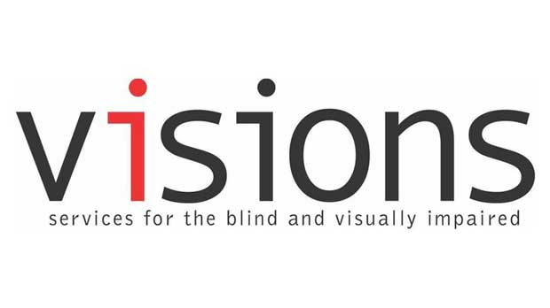 VISIONS/Services for the Blind and Visually Impaired Logo